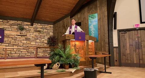 Palm Sunday Service March 28, 2021