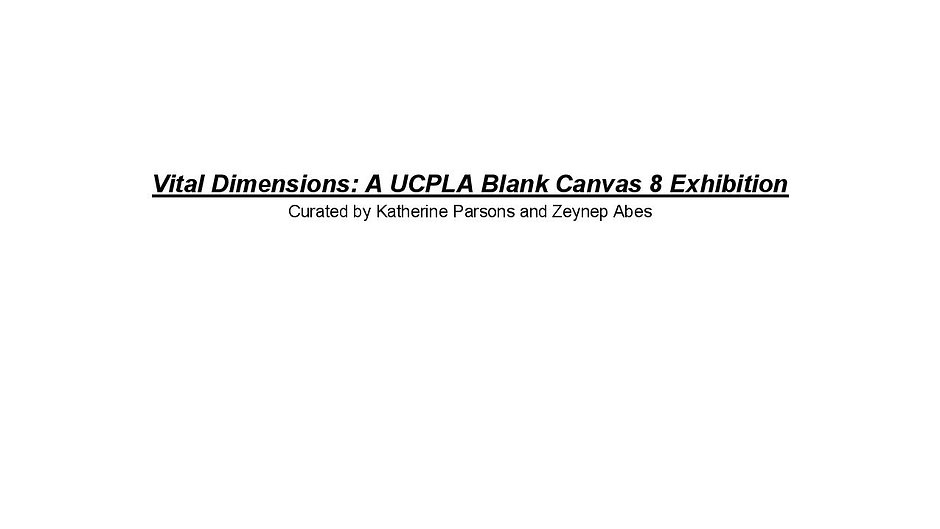 Vital Dimensions