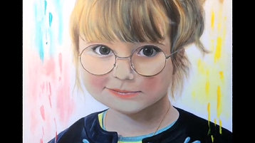 Portrait d'enfant Margot