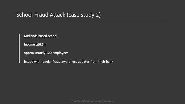 Fraud Awareness for OHCAT Schools