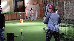 Batting Practice w/ Small Bat