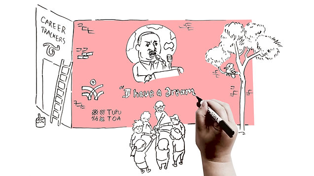 Career Trackers - Whiteboard Animation & Illustration