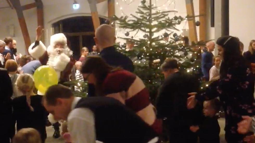 Underholdning til juletræsfest video