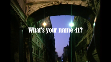 Whats Your Name 41 - the making of
