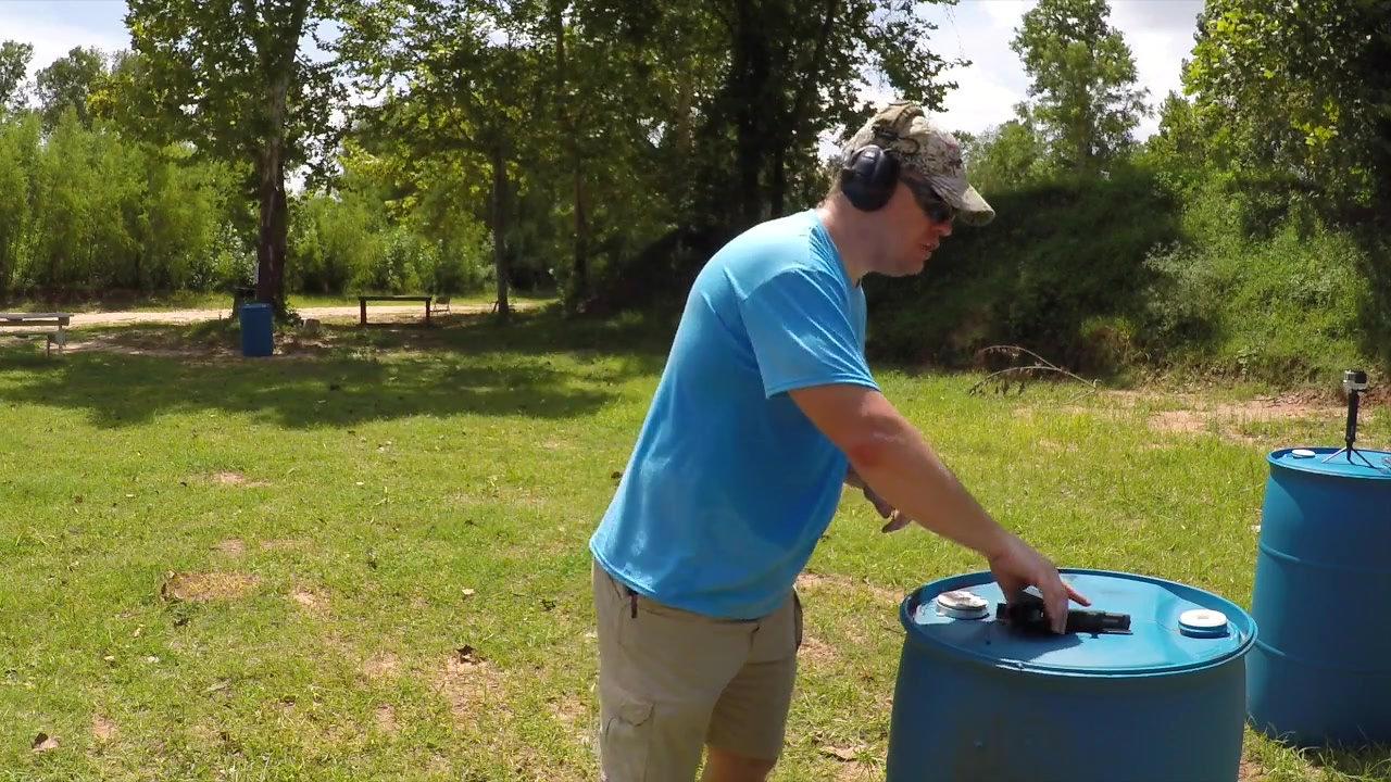 Texas LTC Pistol Qualification (2017)