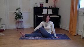 Asanas sur le dos et relaxation guidée