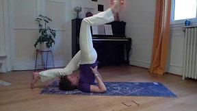 Asanas et mini Yoga Nidra