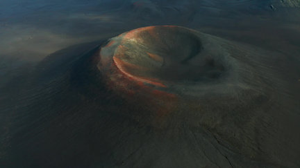The Red Craters