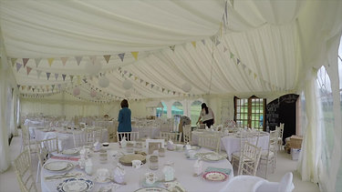 Marquee Dressing With Music