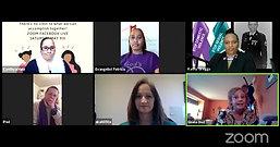Virginia Domestic Violence Rally Virtual Forum Covid-19