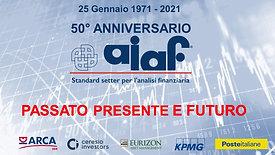 50 ANNI AIAF - Evento digitale gratuito del 50° anno dalla fondazione dell'Associazione
