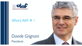 WHAT'S AIAF #1- Presidente Davide Grignani