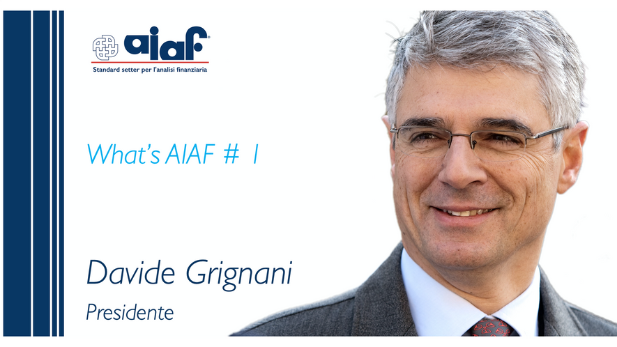WHAT'S AIAF - Presidente Davide Grignani
