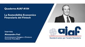 Intervista a Alessandro Foti - Fineco