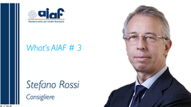 WHAT'S AIAF #3 - Consigliere Stefano Rossi