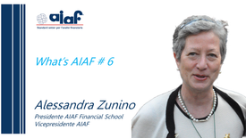 WHAT'S AIAF - n. 6 - Alessandra Zunino