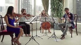 String quartet at UN Japanese Ambassador's Residence- Michiru Oshima