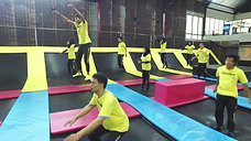 Warm-up on Park Trampolines