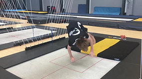 Trampoline Training - Progressing Through The Levels