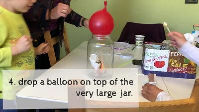 Dr. Lynne Presnts: The Bashful Balloon