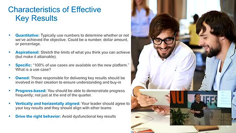How to write effective key results?