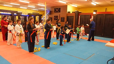 Yellow Belt Promotion