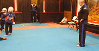 Tae Kwon Do Class Sparring