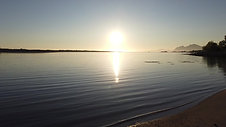 Midnight sun in Vesterålen