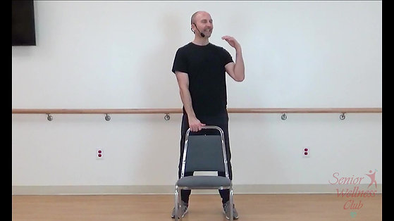 CHAIR ASSISTED STANDING TAI-CHI