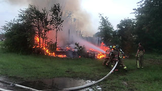 Contentnea Fire Fighters vs. House Fire