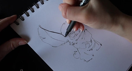Illustration Stitch, dessin animé