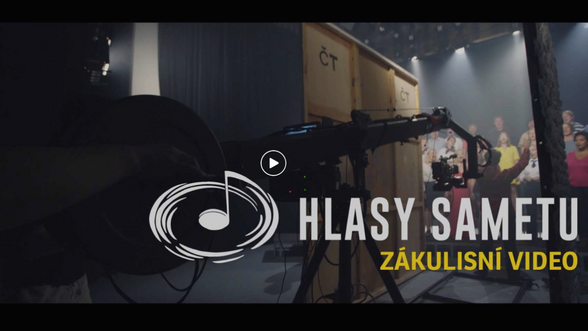 Hlasy sametu - Behind the scenes
