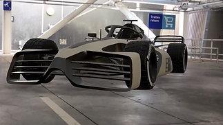 Formula-E Augmented Reality