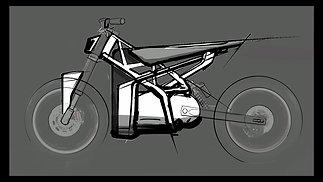 Trim Latte - 2D sketch in Procreate