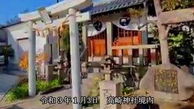 令和三年(2021年) 高崎神社 1月3日の境内