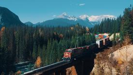 """C.P. Rail """"Canada 150"""""""