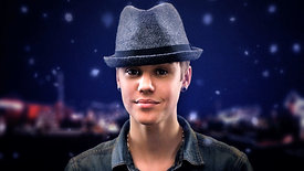 MUCH Justin Bieber Home For The Holidays
