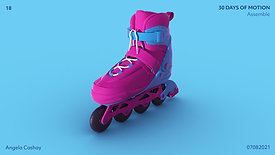 Day 18 - Rollerblade - 30 Days of Motion - July 08, 2021