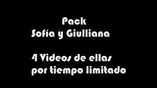 Pack Sofía y Guilliana