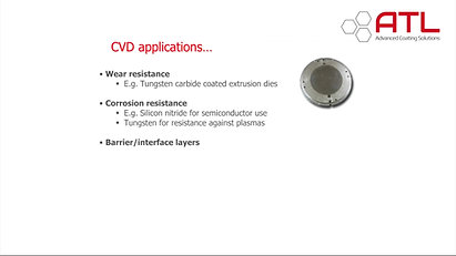 Uses of CVD