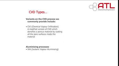 Types of CVD
