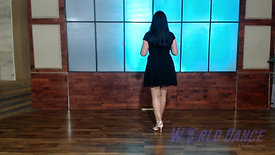 Basic Ladies Stying Footwork Combination by Janette Valenzuela