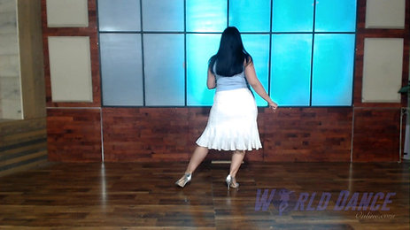 Int. Lady's Styling Footwork by Janette Valenzuela