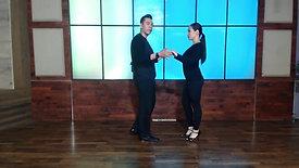 Left Turn Men & Women Beginner Class by Miguel & Jennifer Aguirre