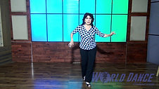 Cha Cha Cha Footwork Level 1 and 2 by Laura Canellias