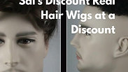 Friendly Friendly Sal's Discount Real Hair Wigs at a Discount