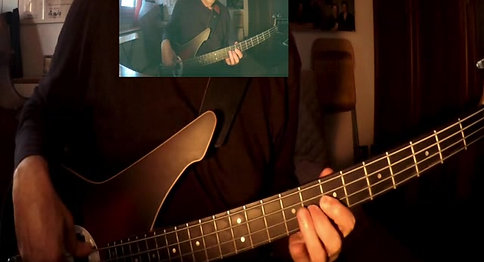 "Major blues ""BLUES"" di M. Moriconi con P. Woods-D.Rea-E-Bandini #DATABASSdigital"