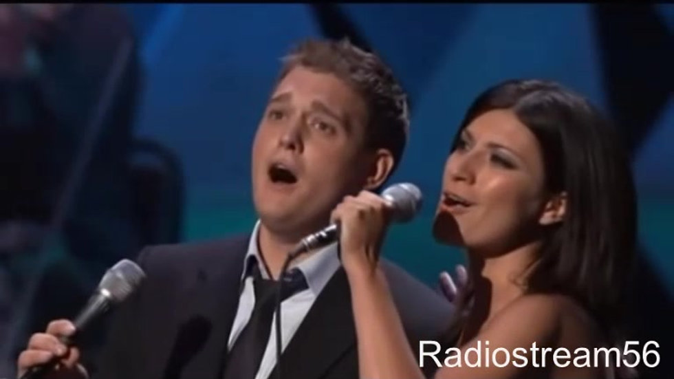 You'll never find - Michael Buble & Laura Pausini (live)
