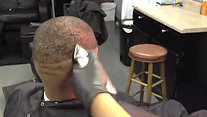 Fades of Gray Barbershop  Blindfolded Haircut