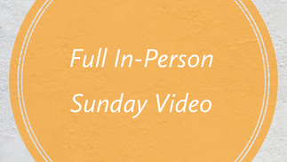 November 8th Full Sunday Service Video